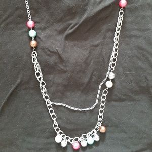 Multi color Layering Necklace